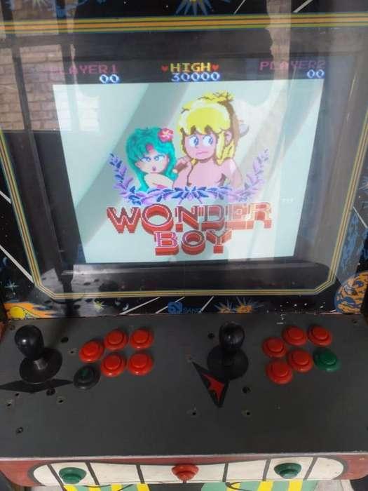 Maquina arcade, todos los juegos