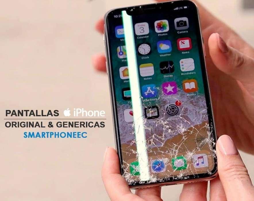 Pantalla Display Iphone X 8/8Plus 7/7Plus 6/6Plus 6s/6sPlus 5/5s/5c Garantia