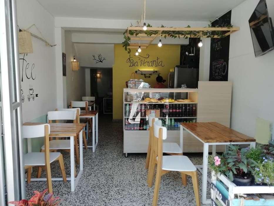 se vende café equipado y acreditado excelente ubicación