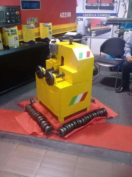 Curvadora de tubos, capacidad maxima en redondo 3 pulgadas en cuadrado 2 pulgadas