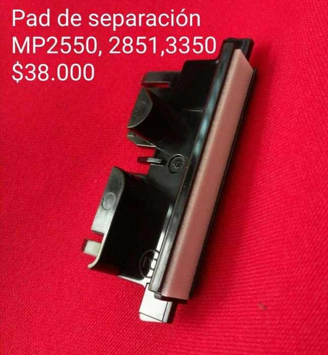 PAD DE SEPARACION RICOH AFICIO MP2550, 2851, 3350