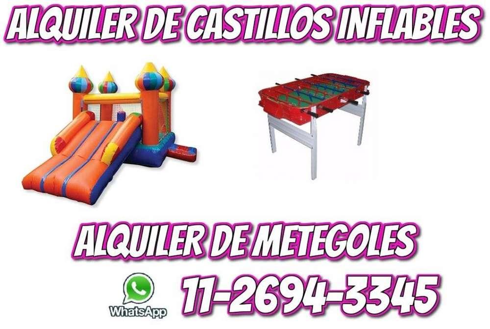 Alquiler de Castillos Inflables