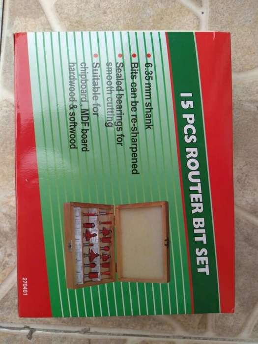 Kit Fresas para Ruteadora Nuevo X 15
