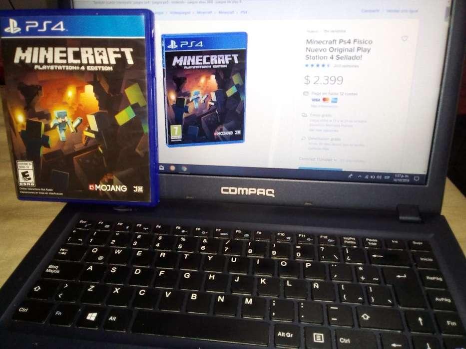 Vendo Minecraft Playstation 4 Edition