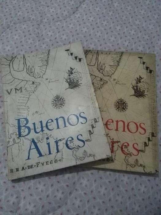 Revista Buenos Aires 1 Y 2 Humanidades CULTURA MINISTERIO DE EDUCACION 1961 Y 1962 MUY BUENAS