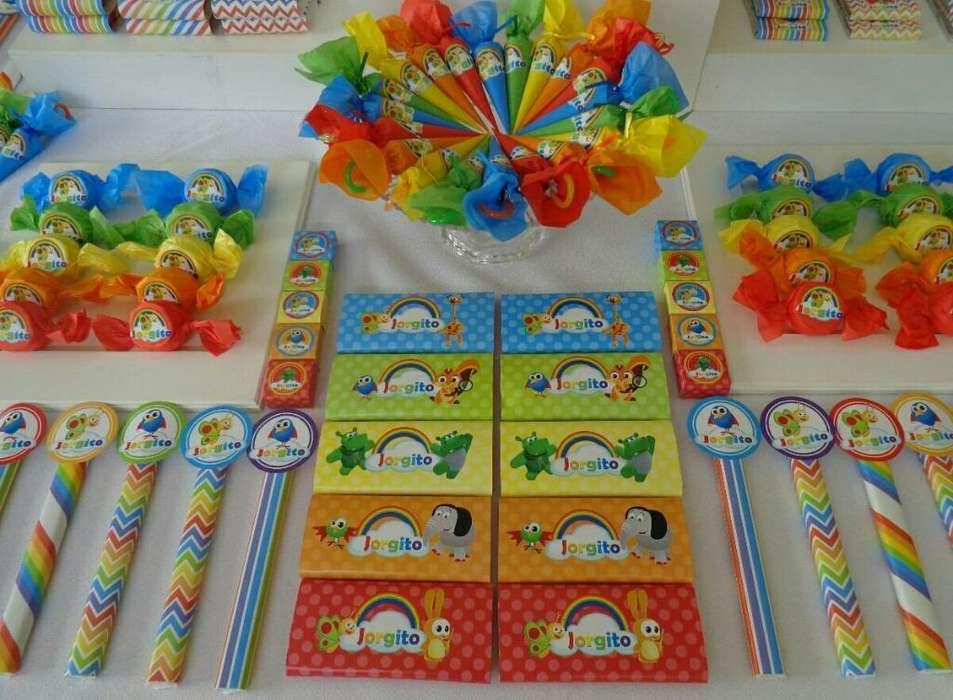 Personalizo Caramelos para Fiestas
