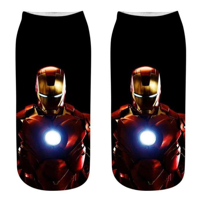 Medias tobilleras Iron Man Avengers
