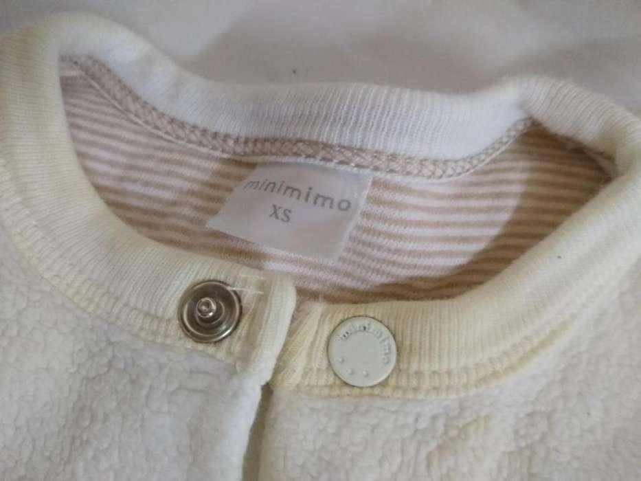 Pijama Minimimo Xs Piel Sintetica Blanca Pañalero Perfecto