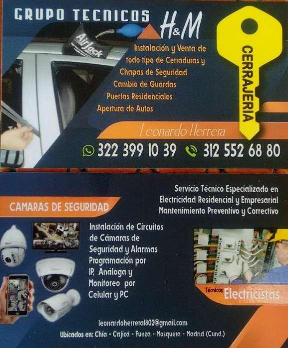 Servicio Cerrajeria en Cudinamarca 24 Hr
