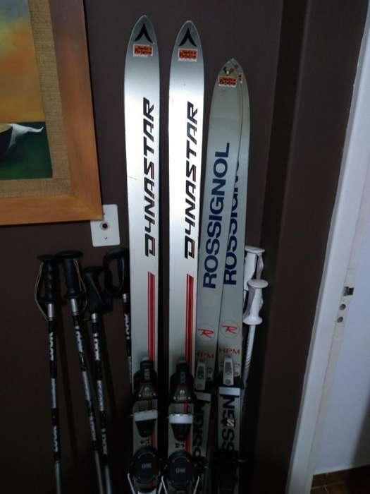 Bastones Y Esquíes Ski