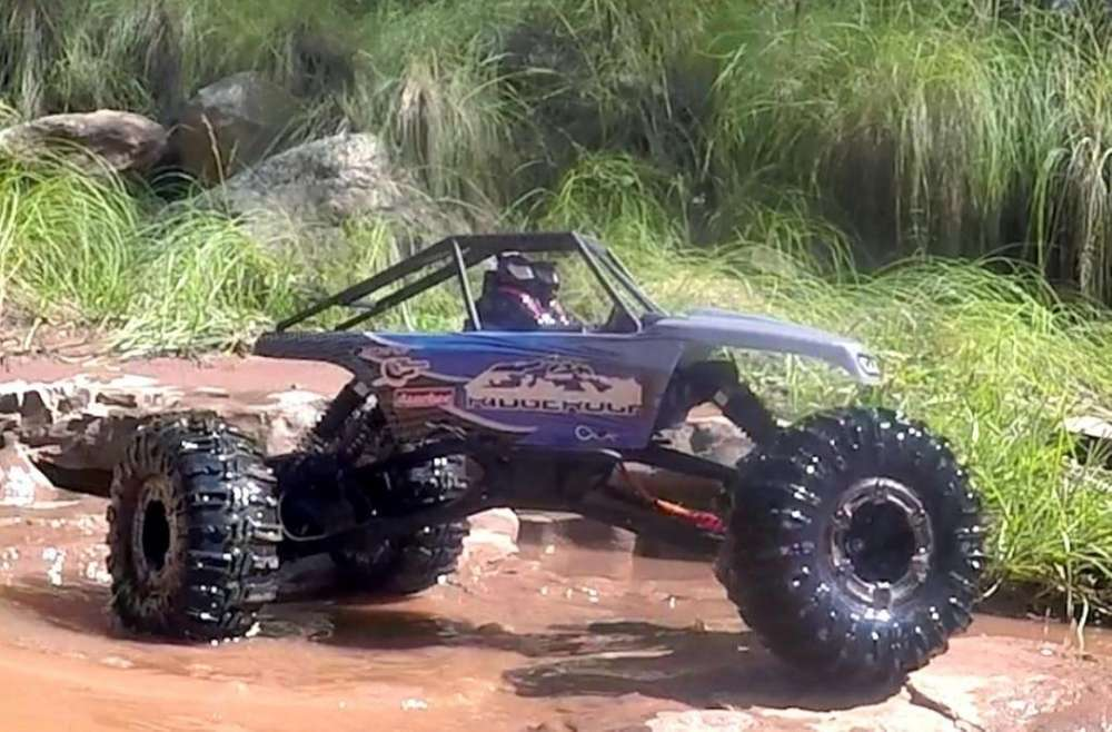 Carro Rock Crawler Ridgerock Rc. 2.4ghz