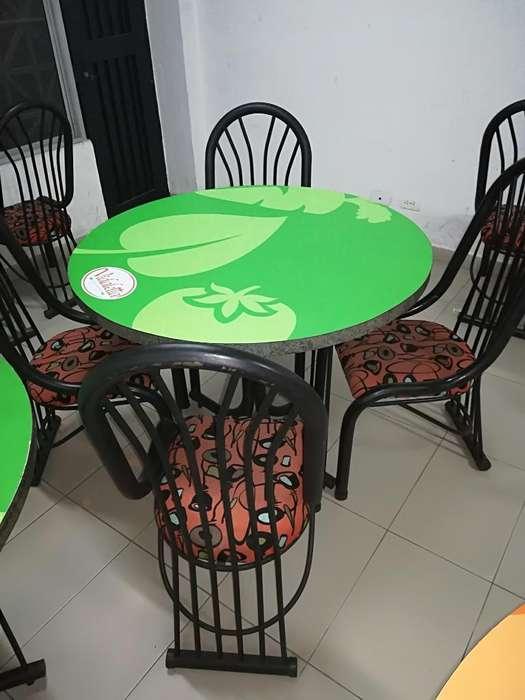 4 Juegos de <strong>comedor</strong> Redondo 16 Asientos