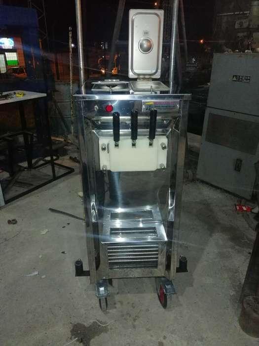 Fabricación de Máquina de Helados