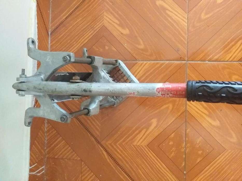 Picador de papas industrial