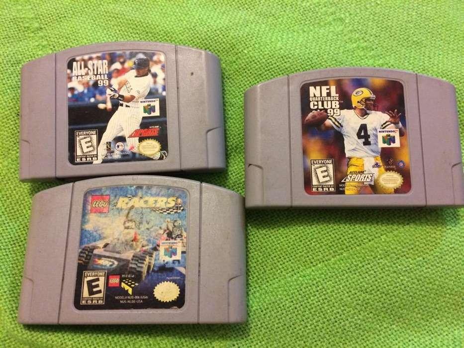 Video Juego Nintendo 64 Games