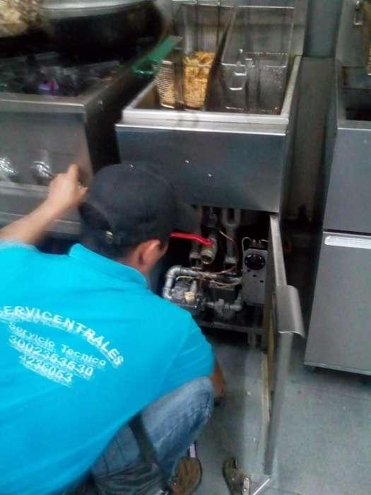 mantenimiento reparacion freidoras hornos estufas en santamarta