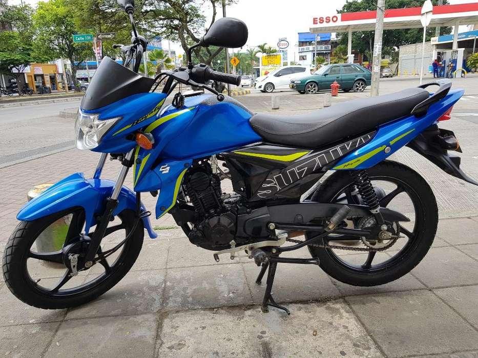 Suzuki Hayate Modelo 2018 Papeles Nuevos