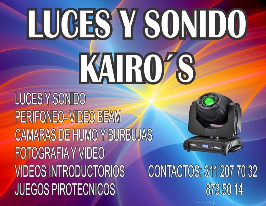 ALQUILER DE LUCES Y SONIDO PERIFONEO