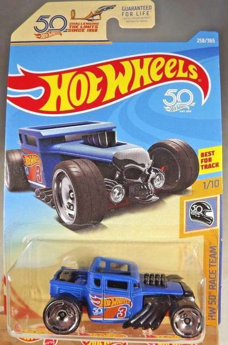 Hot Wheels 50th Race Team BONE SHAKER / 0992786809