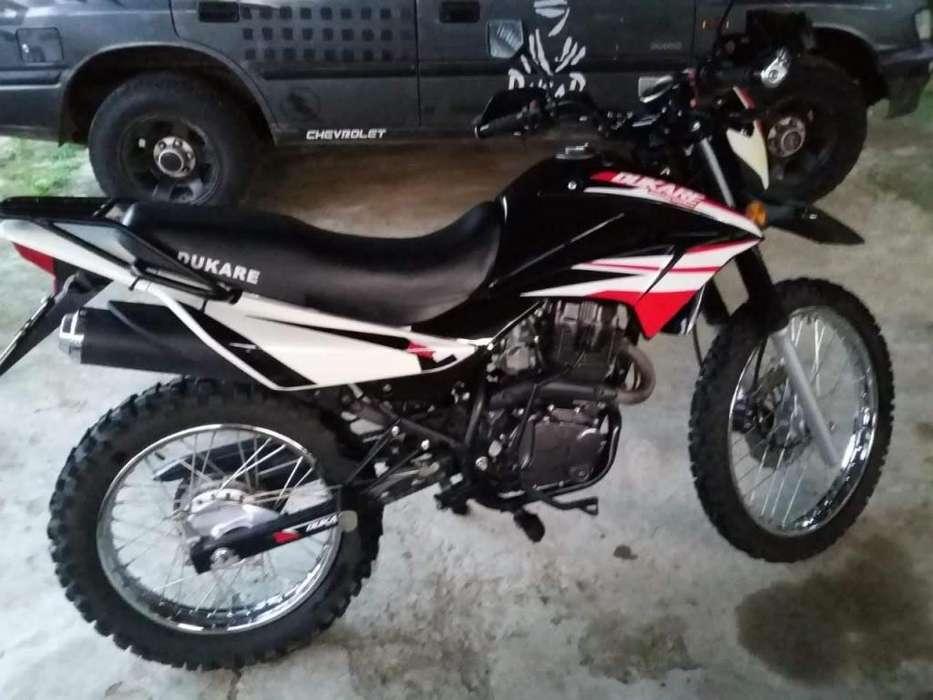 Moto Dukare 200 <strong>nueva</strong> Flamante