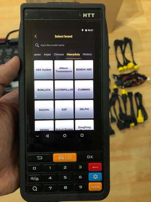 Scanner automotriz Launch X431 HTT 12 y 24 voltios profesional
