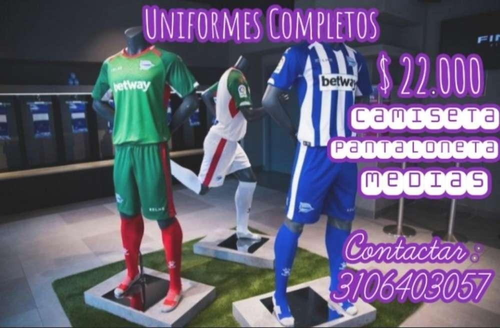 Uniformes de Fútbol Completos