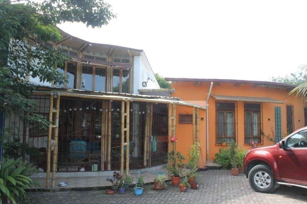 SE VENDE casa ecologica en Tachina, con 3000m2 de terreno
