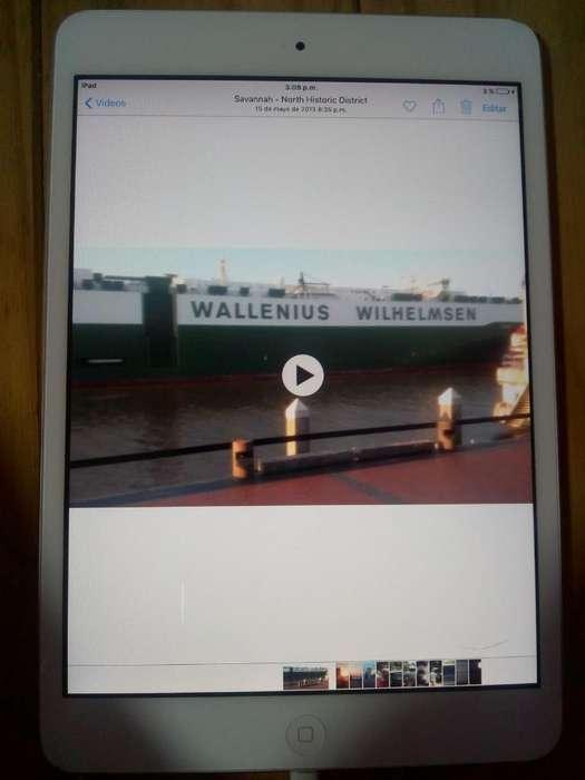 iPad Mini Impecable Recibo Tarj de Cred