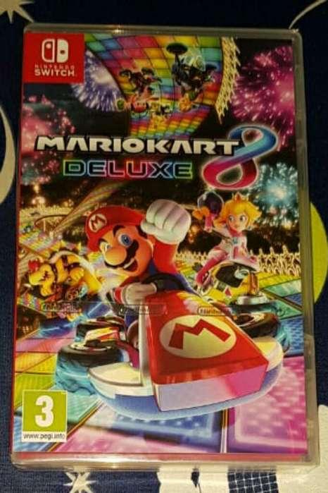 Mario Kart 8 Deluxe Switch Sellados