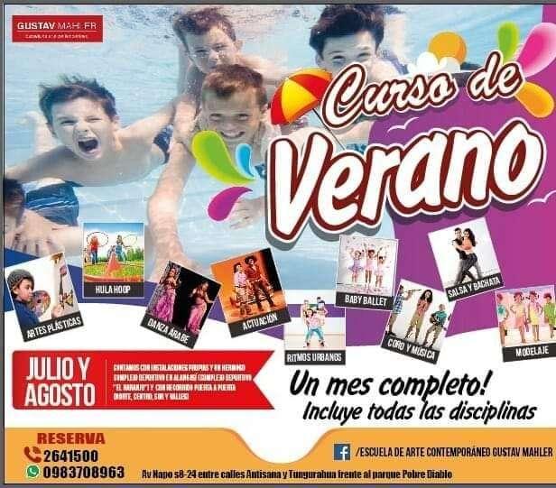 Curso de verano en el sur de Quito