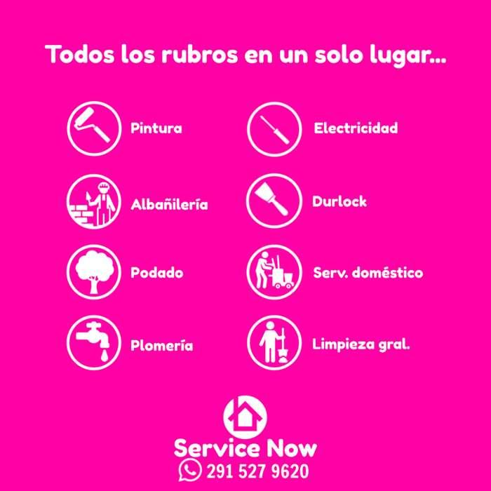 Necesitas personal de limpieza o mantenimiento? Service Now