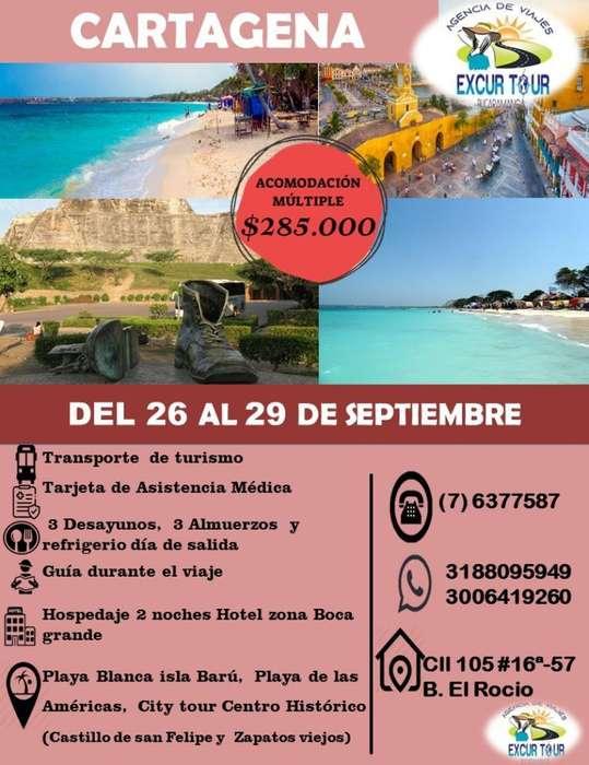 Tour Cartagena Promoción
