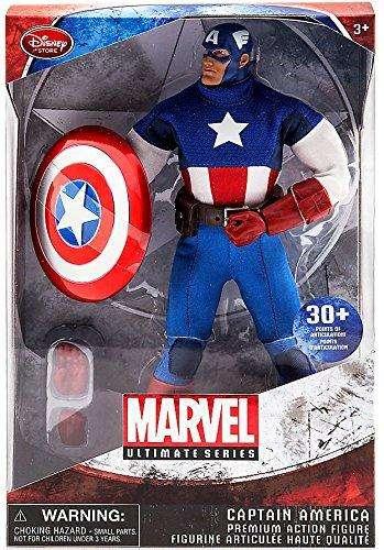 Capitán América Marvel Ultimate Series Premium Figura de acción –