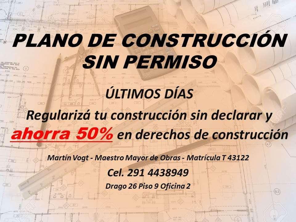 PLANO DE CONSTRUCCIÓN SIN PERMISO, EMPADRONAMIENTO DE VIVIENDA EN MUNICIPALIDAD