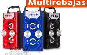 Parlante <strong>mp3</strong> Bluethooth Usb Multirebajas
