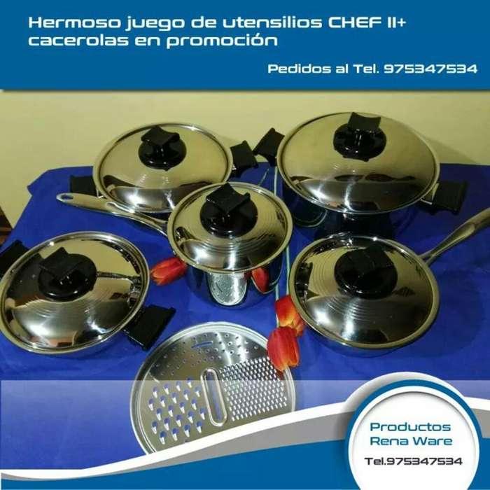 Chef 2 Rena Ware Nuevo