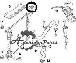 Tapa De Manguera Radiador Superior Dodge Joruney 18 Lbs Psi