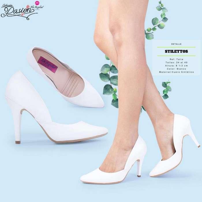 0bd410557a Zapatos para mujer tacones 8 cm de alto tallas desde 34 hasta 40