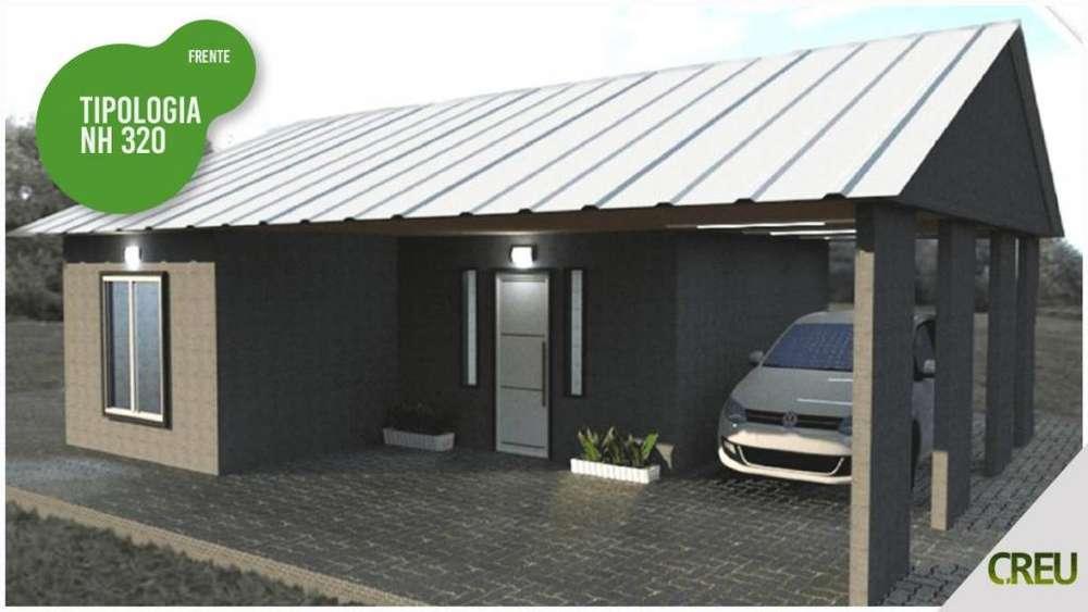 Casa Industrializada 2y3 dormitorios LLave en mano