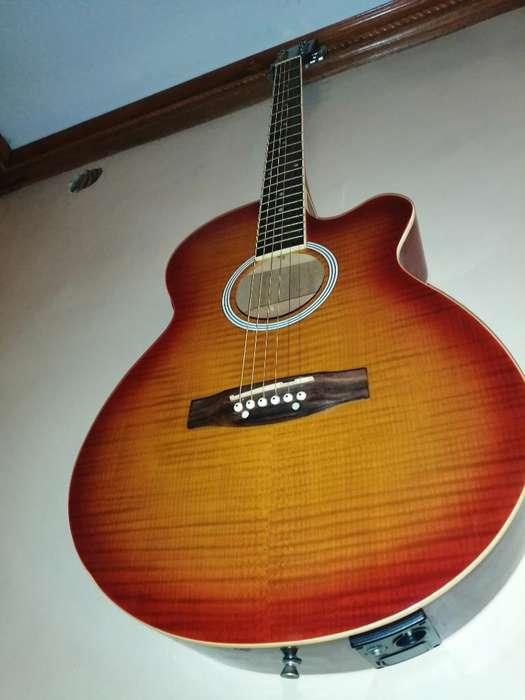 Guitarra Acústica sin Uso Negociable