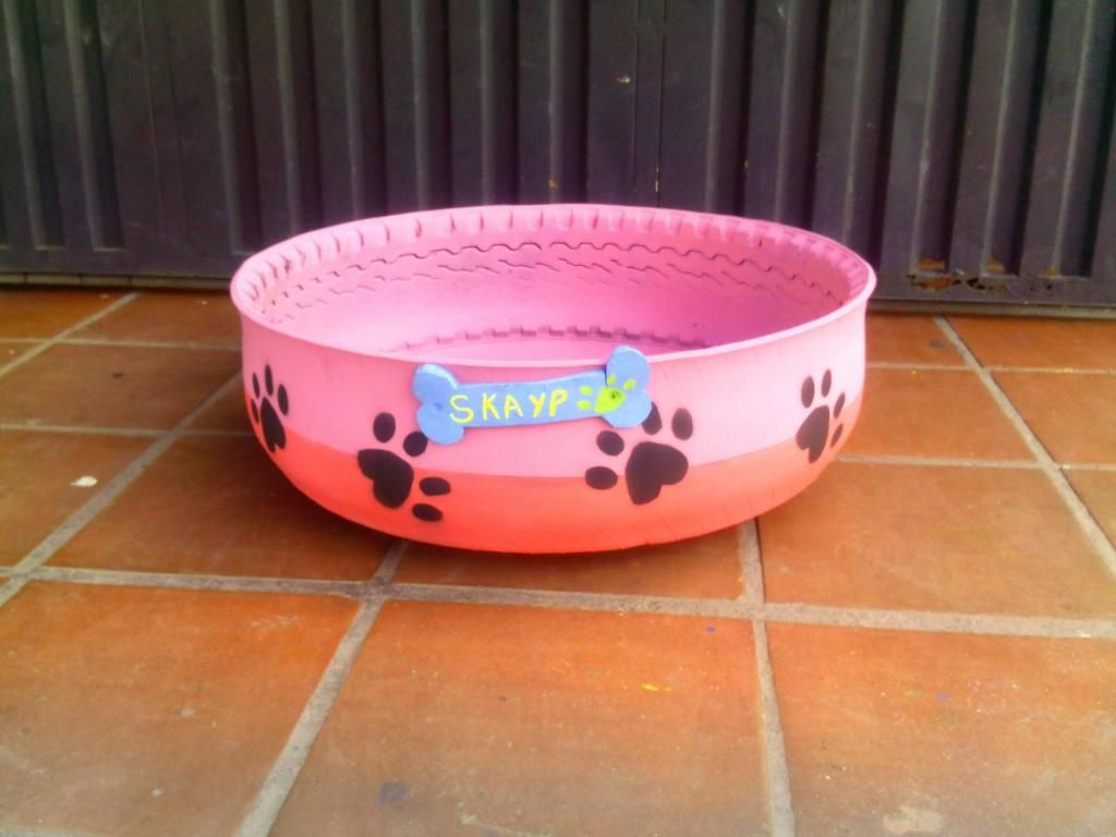 Camas para Perro en Llanta
