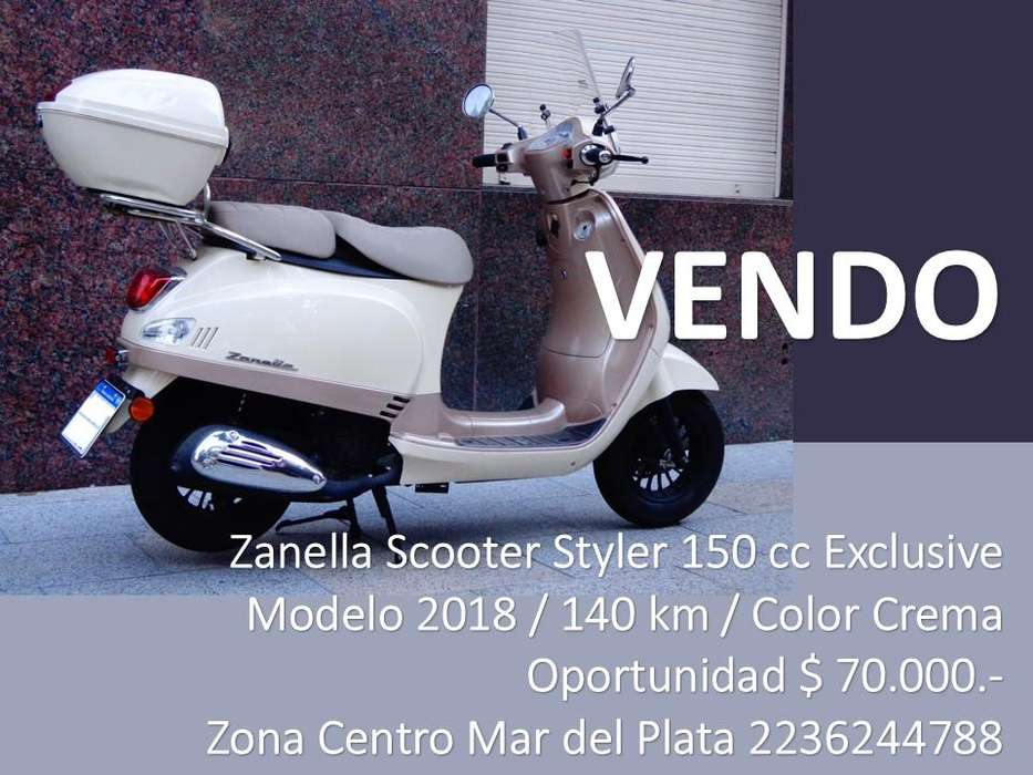 VENDO MOTO / Zanella <strong>scooter</strong> Styler 150 Exc.
