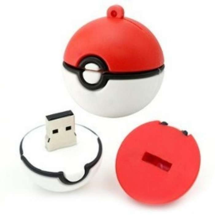 Memoria Usb 16 Gb Pokebola