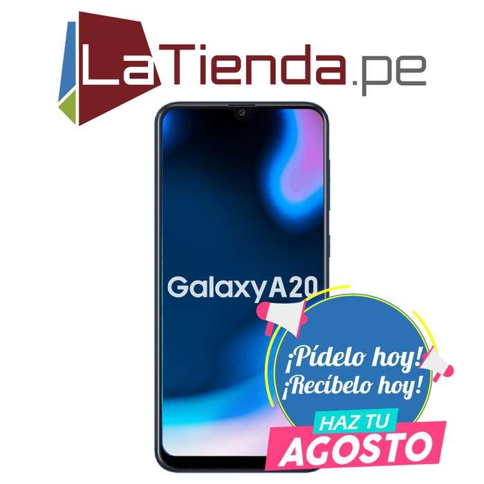 Samsung Galaxy A20 - pantalla de 6.4 pulgadas