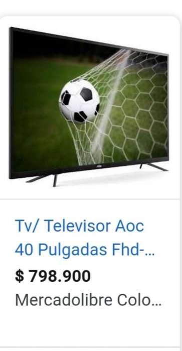 Televisor Aoc 40 Pulgadas 3 Meses de Uso