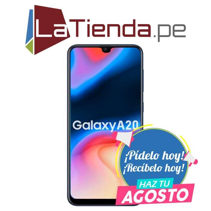 Samsung Galaxy A20 - Con acelerometro