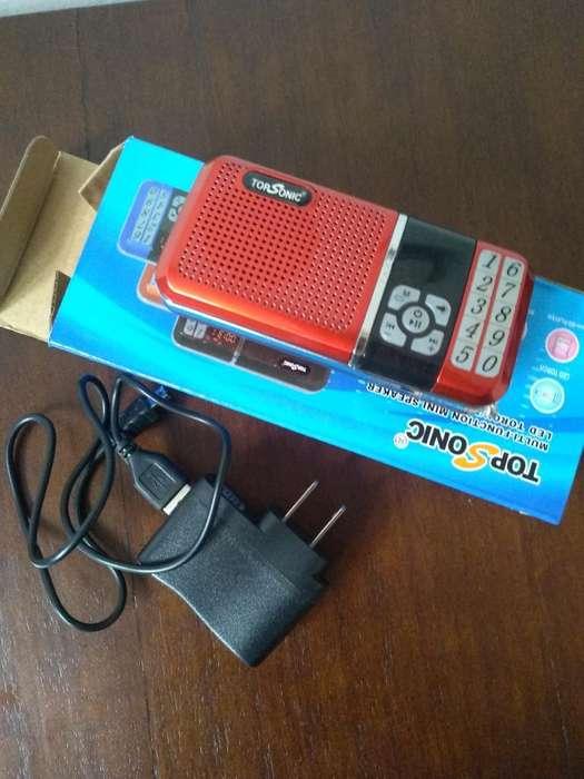 Radio Nuevo, Fm, Mp3, Audífono Sony Ori