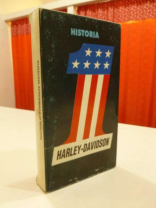 La Historia De Harley Davidson, En Videocassetes VHS