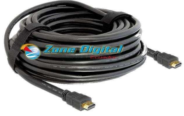 Cable Hdmi A Hdmi 50ft 15 Metros Hd Tv Plasma Dvd Lcd
