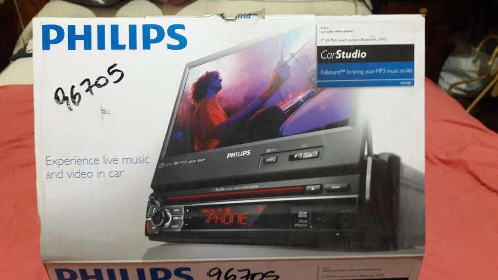 stereo dvd philips Dvd/CD player-Usb-bluetooth-SD. control remoto en caja